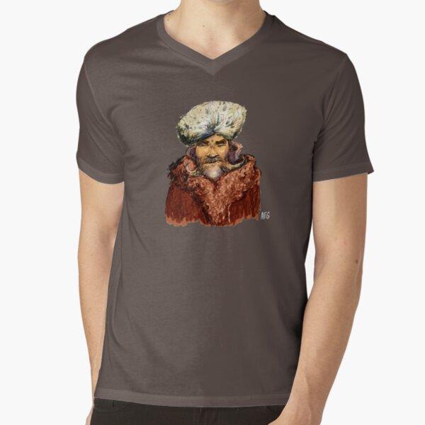 Mountain Man V-Neck T-Shirt