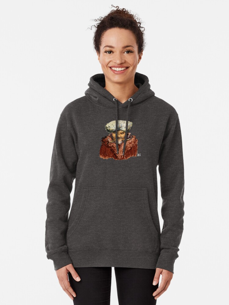 Alternate view of Mountain Man Pullover Hoodie