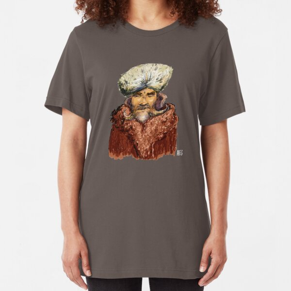 Mountain Man Slim Fit T-Shirt