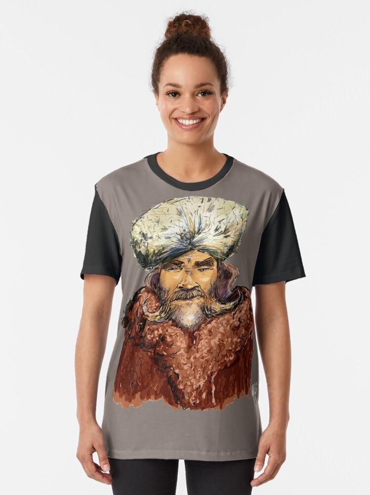 Alternate view of Mountain Man Graphic T-Shirt