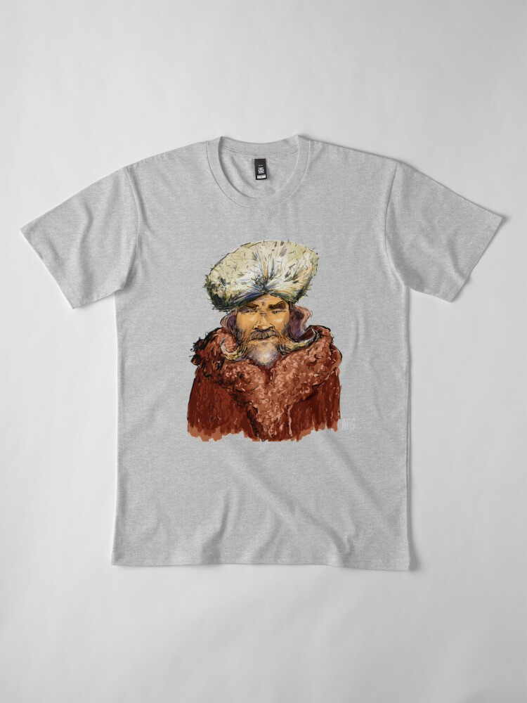 Alternate view of Mountain Man Premium T-Shirt