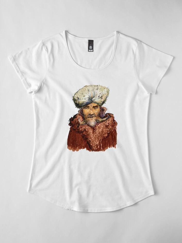 Alternate view of Mountain Man Premium Scoop T-Shirt