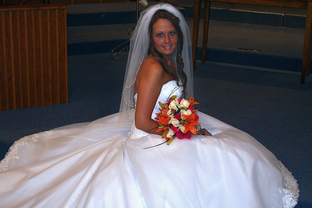 Sitting pretty bride by Patty Haisley