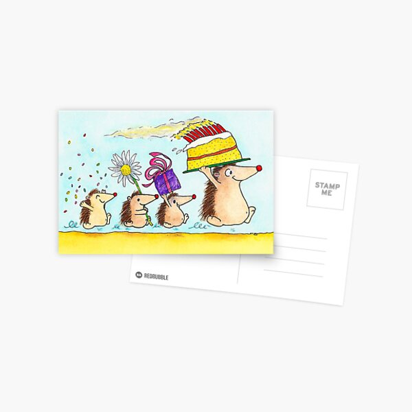 Happy Birthday greeting card  Postcard