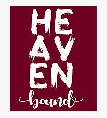 Heaven bound Photographic Print