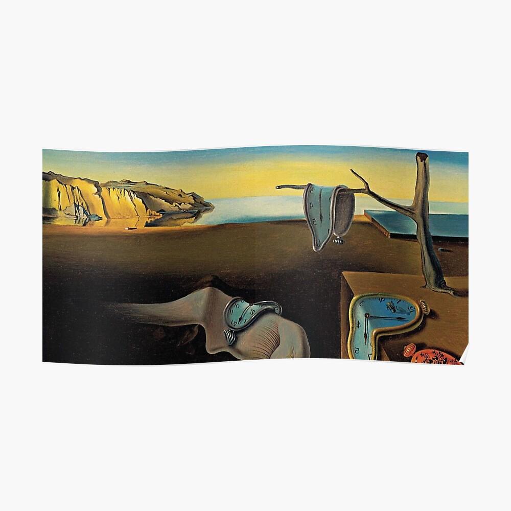 DALI  Persistence Memory  Kunstdruck 60 x 80 cm