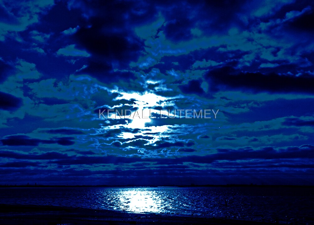 ALL BLUES - ALL SHADES ALL HUES by KENDALL EUTEMEY