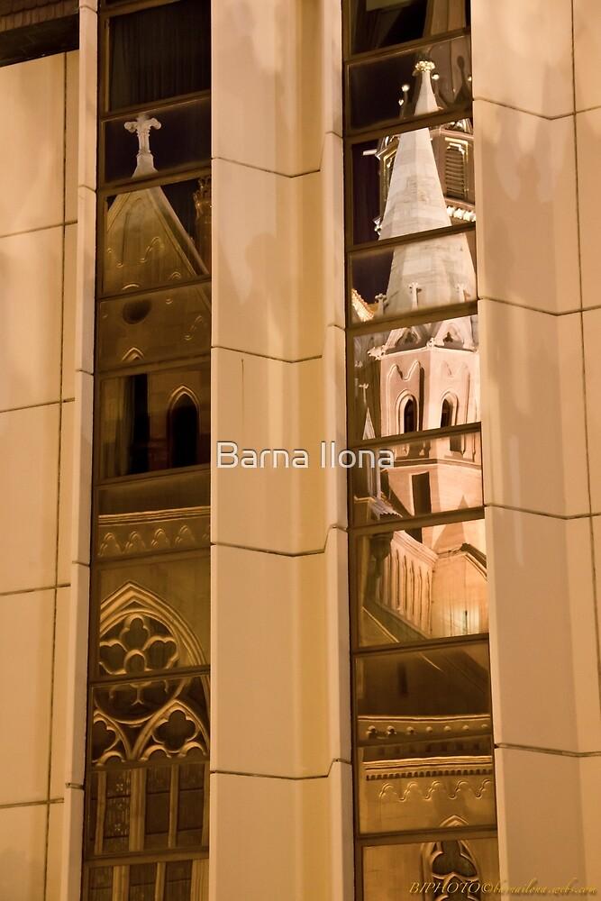 Reflection 5. Mathias Kirche Budapest Hungary by BIPHOTO