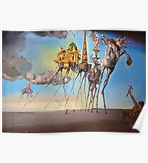 The temptation of st. Anthony Poster