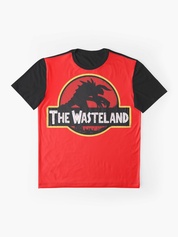 Alternate view of Welcome to the Wasteland  Graphic T-Shirt