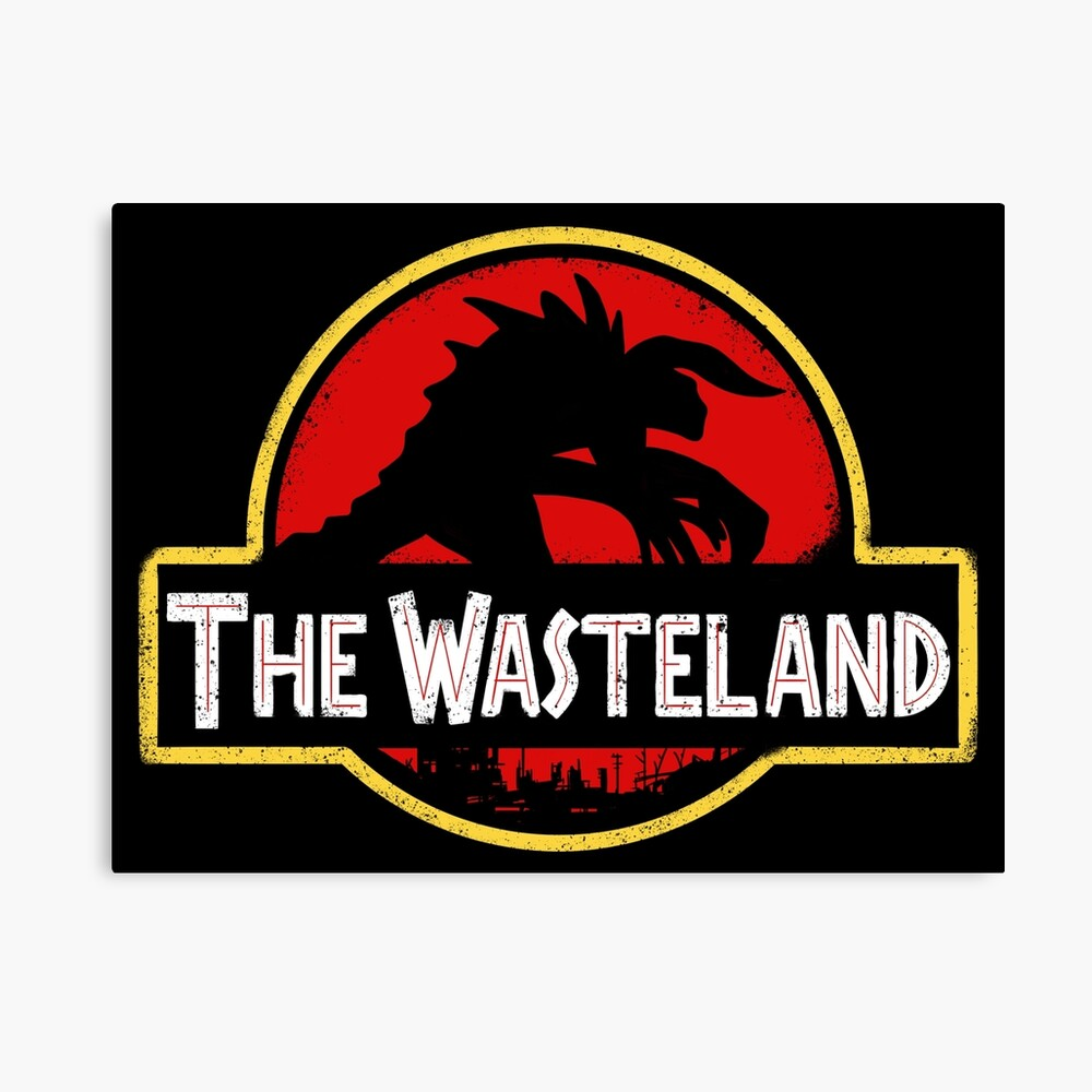 Welcome to the Wasteland  Canvas Print