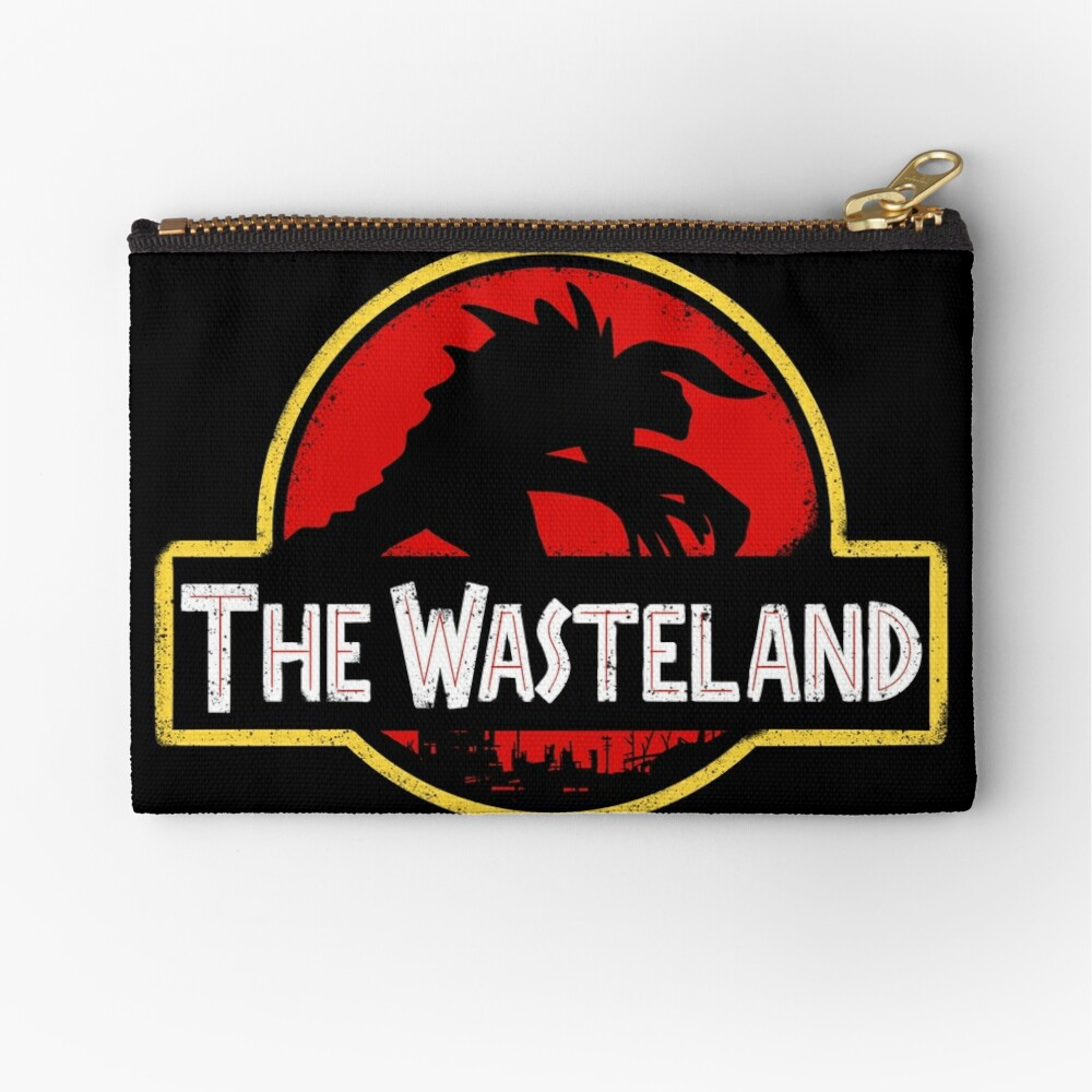 Welcome to the Wasteland  Zipper Pouch