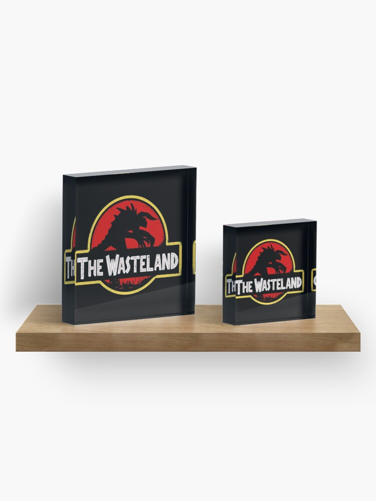 Alternate view of Welcome to the Wasteland  Acrylic Block