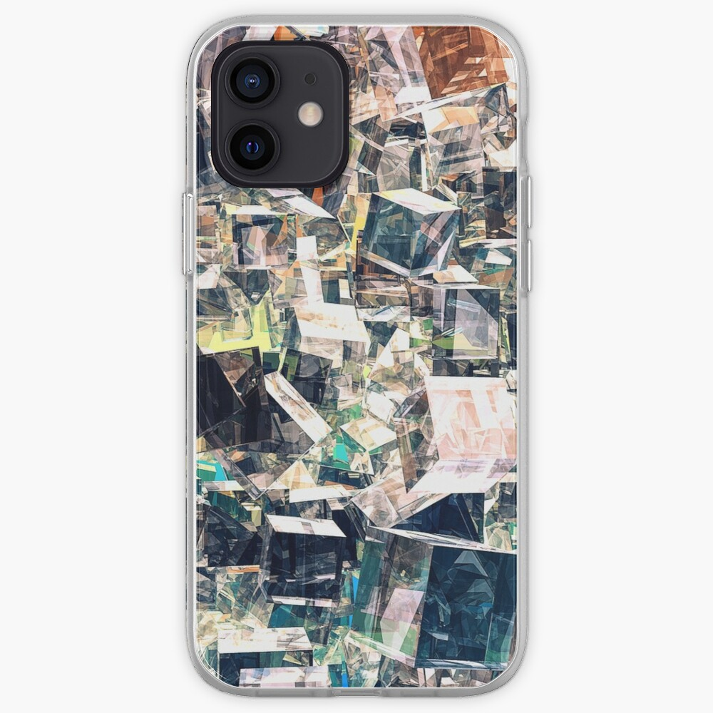 Chaotic Collection of Cubes iPhone Case & Cover
