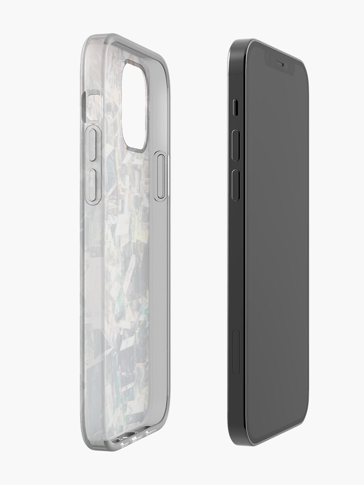 Alternate view of Chaotic Collection of Cubes iPhone Case & Cover