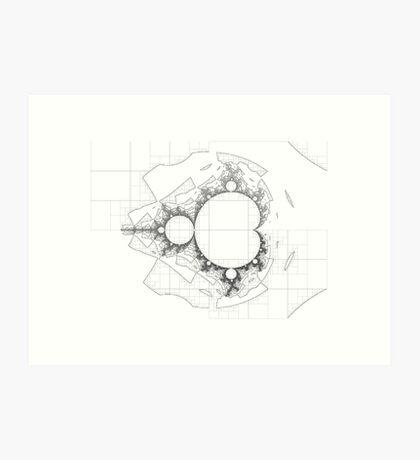 Mandelbrot series I Art Print