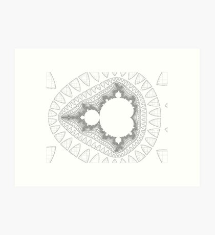 Mandelbrot series IV Art Print