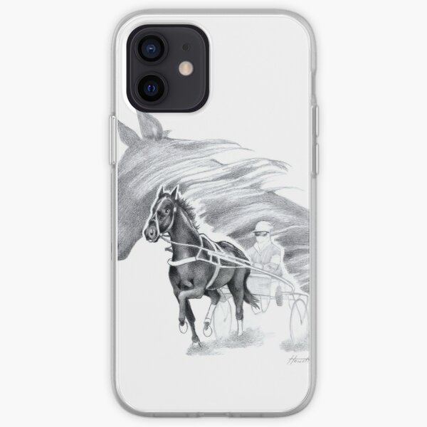 Trotting Up A Storm iPhone Soft Case
