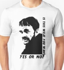 Lorne Malvo question Unisex T-Shirt