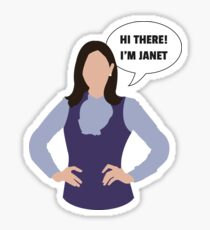 Janet - The Good Place Sticker