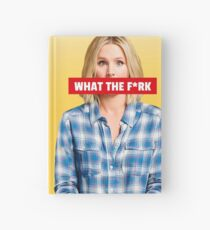 What the fork - Good place Hardcover Journal