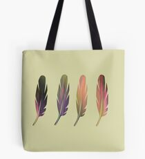 Feathers Four Tote Bag