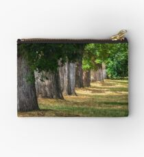 old trees in city park Studio Pouch