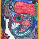 Tulip in brain by Alice Cohen