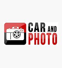 CarAndPhoto Brand Merchandise Photographic Print