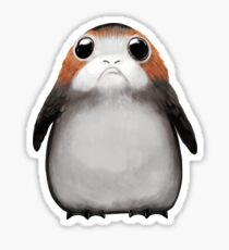 May the porg be with you! Sticker