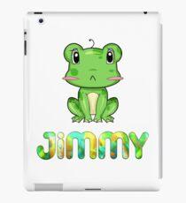 Jimmy Frog iPad Case/Skin
