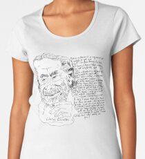 Charles Bukowski  Women's Premium T-Shirt