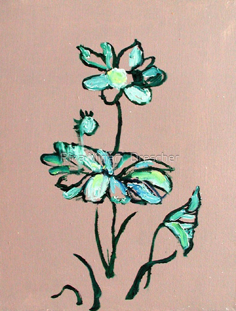 Lotus by Rina Miriam  Drescher