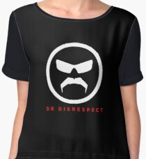 The Great Mustache Of Dr Disrespect Chiffon Top