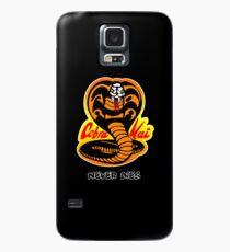 Cobra Kai - stirbt nie - Karate Kid Hülle & Klebefolie für Samsung Galaxy