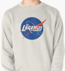 Dc's Legends of Tomorrow + Nasa Logo Pullover