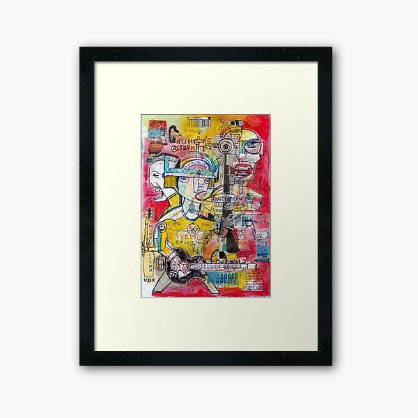 REVENGE Framed Art Print