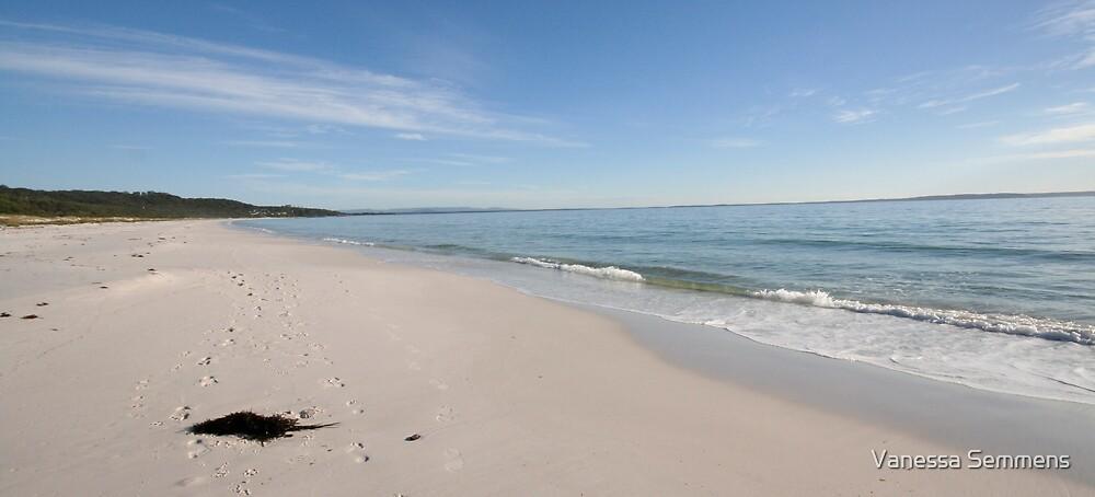 Hymas Beach by Vanessa Semmens