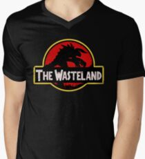 Welcome to the Wasteland  Men's V-Neck T-Shirt