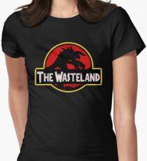 Willkommen im Ödland Tailliertes T-Shirt