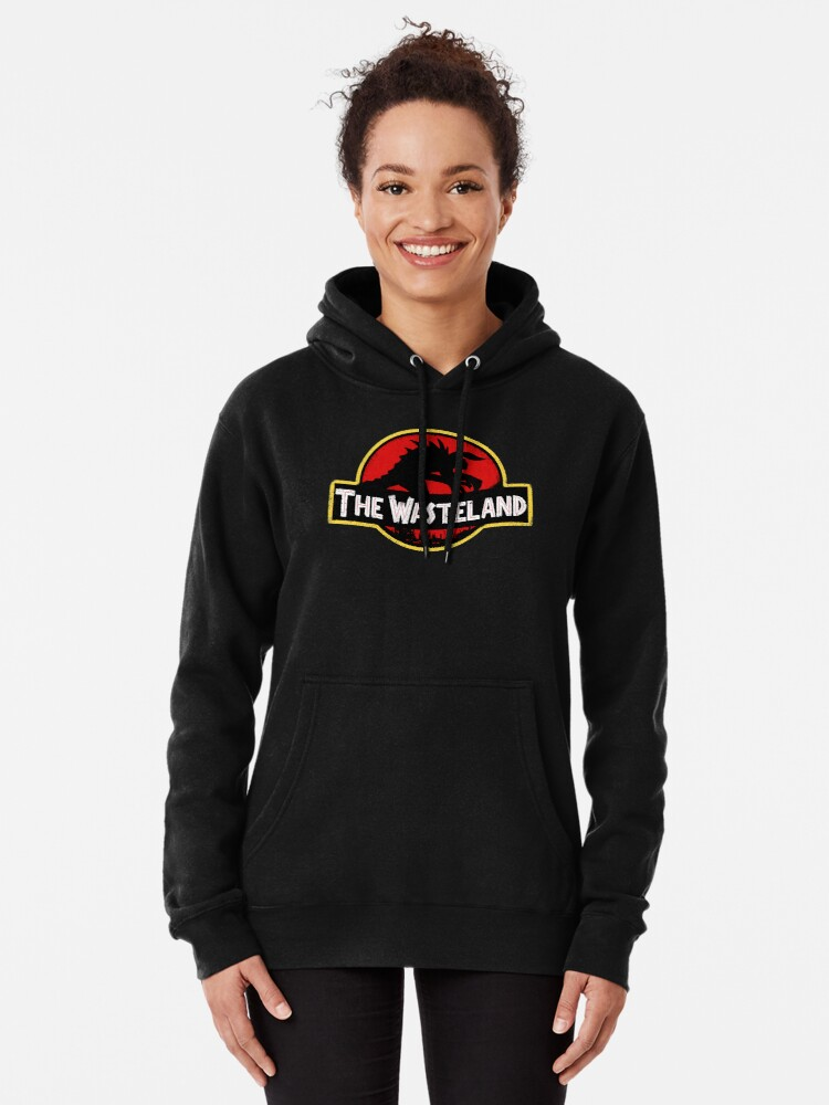 Alternate view of Welcome to the Wasteland  Pullover Hoodie