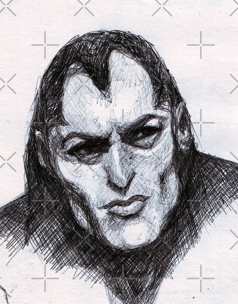 Gothic Man Sketch by DreddArt