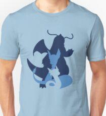 Dratini, Dragonair & Dragonite Unisex T-Shirt