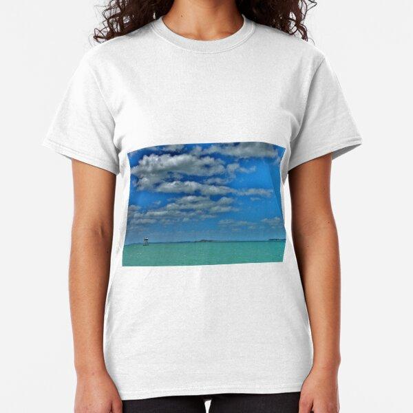 Beanrock Lighthouse, Auckland, New Zealand Classic T-Shirt