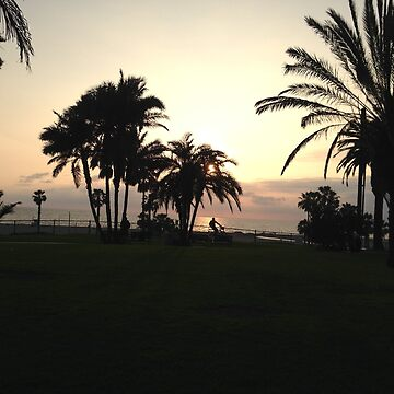 Santa Monica Sunset by daisycakes4