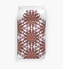 trippy geometric star design Duvet Cover