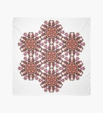 trippy geometric star design Scarf