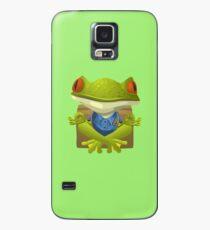 Inhabitants Yoga Frog. Case/Skin for Samsung Galaxy
