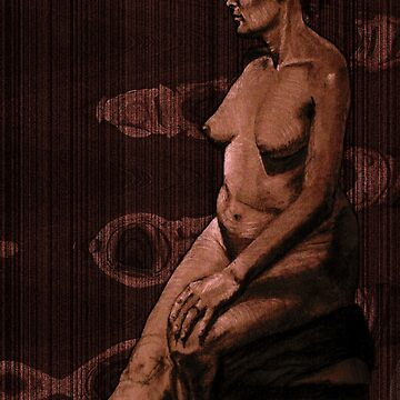 WoodenWoman by zaxart
