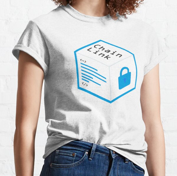 Chainlink Logo Crypto Oracle Classic T-Shirt